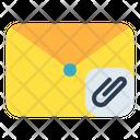 Mail Message Clip Icon