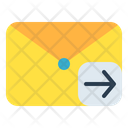 Mail Message Arrow Icon
