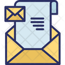 Communication Dispatch Lettering Icon