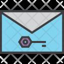 Mail Password Encryption Icon