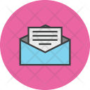 Mail Letter Notification Icon