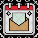 Mail Envelope Calendar Icon