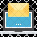 Mail Marketing Laptop Icon