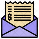 Mail Letter Bill Icon