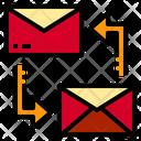 Mail Transfer Data Communication Icon