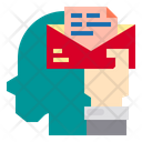 Email Hand Human Icon