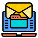 Email Document Pin Icon
