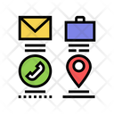 Mail Business Call Icon