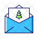 Mail Letter Christmas Icon
