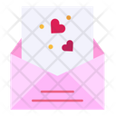 Mail Letter Heart Icon