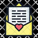 Mail Love Loving Icon