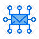 Mail Share Seo Icon