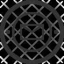 Mail Badge Ribbon Icon