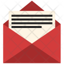 Card Greeting Letter Icon