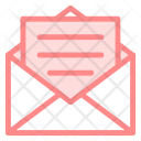 Mail Envelope Outlined Icon