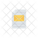 Mail File Document Icon