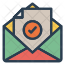 Mail File Open Icon