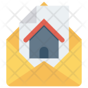 Open Message Envelope Icon
