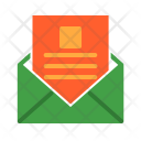 Mail Read Envelope Icon