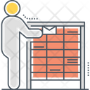 Mail Area Letter Box Employee Icon
