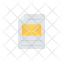 Mail attachment file Icon