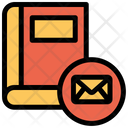 Book Email Mail Icon