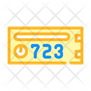 Coworking Mailbox Color Icon