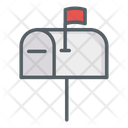Mail Box Letterbox Postbox Icon