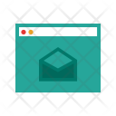 Browser Mail Open Icon