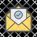 Mail Check Icon