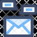 M Mail Communication Icon