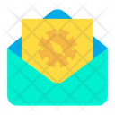 Mail Compass Icon