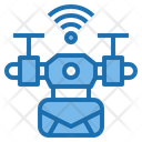 Email Drone Ai Icon