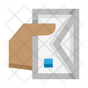 Mail Delivery Communication Hand Icon