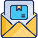 Mail Delivery Service Postal Courier Icon