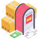 Mailbox Letter Box Mail Delivery Services Icon