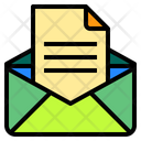 Document Mail Office Icon