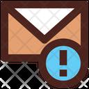 Mail Error Email Error Mail Warning Icon