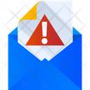Mail Error Email Error Spam Email Icon