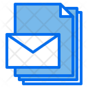 Mail Files Paper Icon