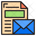 Paper Mail Document Icon