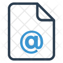 Mail Document Documentation Icon