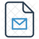 Mail File Sheet Icon
