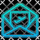 Mail Flight Icon