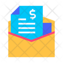 Mail Invoice Icon