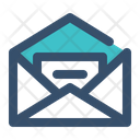 Mail Letter Text Icon