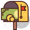 Mail Letter Box Mail Delivery Letter Box Icon