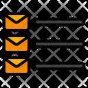 Mail List Message List Icon