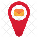Mail Location Location Email Icon