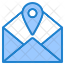Mail Location Email Location Mail Icon